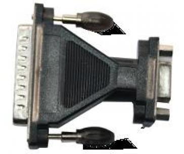 Unitek Y-105A adaptér USB - Serial + adaptér DB9F/DB25M