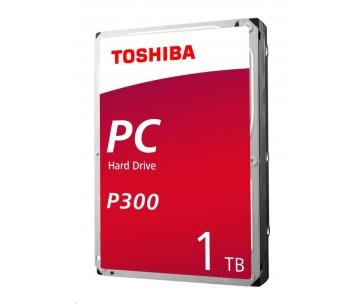 "TOSHIBA HDD P300 Desktop PC (CMR) 1TB, SATA III, 7200 rpm, 64MB cache, 3,5"", BULK"