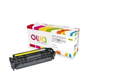 OWA Armor toner pro HP Color Laserjet Pro M476, 2700 Stran, CF382A, žlutá/yellow
