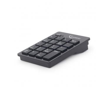 Gembird bezdrátová numerická klávesnice