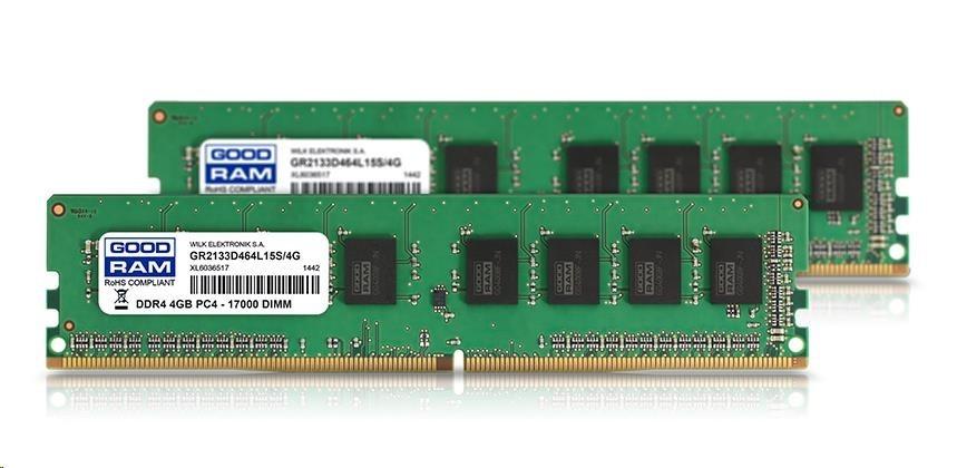 DIMM DDR4 8GB 2400MHz (KIT 2x 4GB) CL17 SR GOODRAM