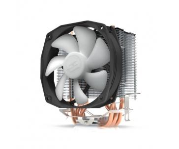 SilentiumPC chladič CPU Spartan 3 PRO RGB HE1024/ ultratichý/ 100mm fan/ 2 heatpipes/ PWM/ pro Intel, AMD