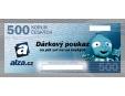 Dárkový poukaz ALZA.CZ 500 Kč
