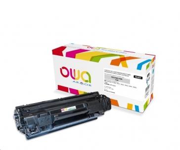 OWA Armor toner pro HP Laserjet P1566, 1601, 2100 Stran, CE278A, černá/black