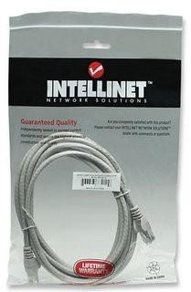 Intellinet Patch kabel Cat6 UTP 3m šedý