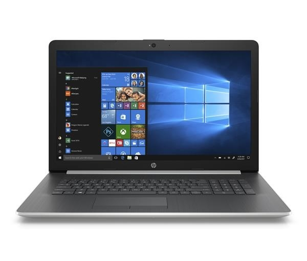 "NTB HP Laptop 17-ca0013nc;17.3"" IPS AG FHD;AMD A9-9425 dual,8GB DDR4;1TB/5400+128GB SSD;DVD;Radeon530-2GB;Win10 - silver"