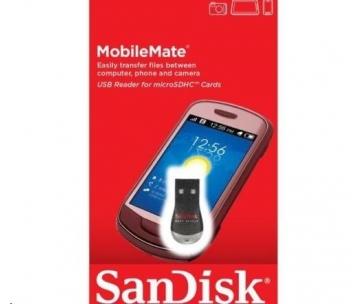 SanDisk čtečka microSD USB 2.0 reader, 3x5, Global