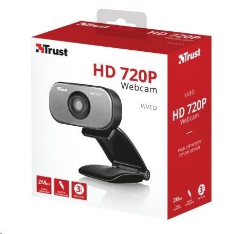 TRUST Kamera VIVEO HD 720P WEBCAM - webkamera