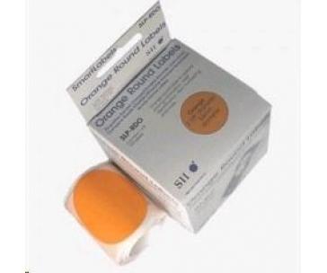 Seiko adresní kruh - oranžový 57mm, 120ks/role