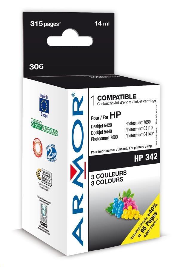 ARMOR cartridge pro HP DJ 5440, PSC1510, Photosm. 2575 Serie, 3 barvy (C9361E)