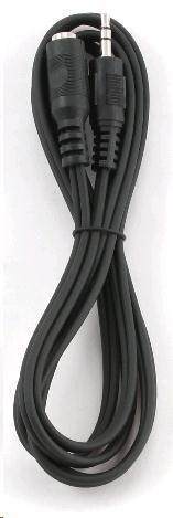 GEMBIRD Kabel audio 3,5mm Jack - Jack prodlužovací  1,5m (M/F, stereo)