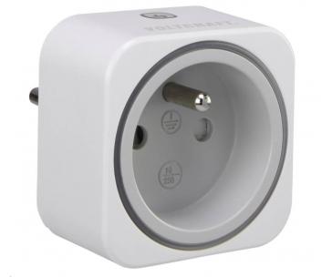 CONRAD Zásuvkový měřič spotřeby el. energie a spínací zásuvka 2v1 VOLTCRAFT SEM6000FR, s Bluetooth, CZ verze
