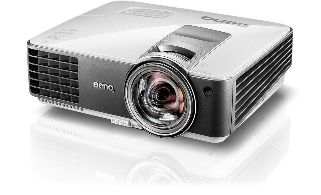 Projektor BenQ MX825ST DLP, XGA, 20000;1, 3300 ANSI; Short-throw(87''@0.91m)