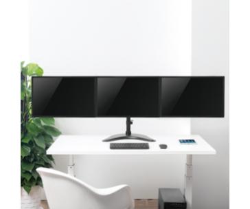 LOGILINK - Triple monitor desk stand,13-27'', max. 8 kg