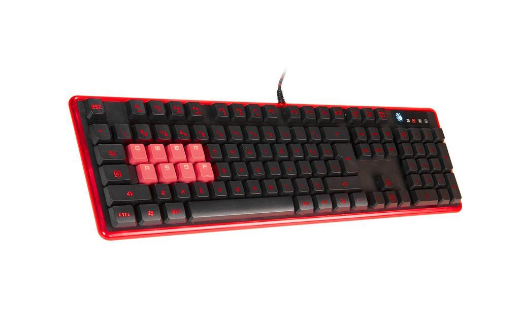 Gaming keyboard A4TECH BLOODY B2278 (8 Mechanical Light Strike Keys)
