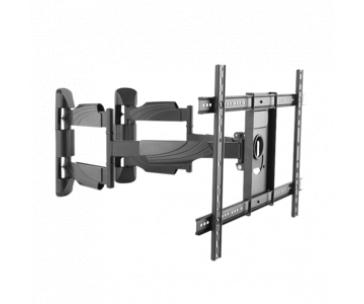 LOGILINK - TV wall corner mount, tilt -8°/+5°, swivel -90°/90°,max 45 kg