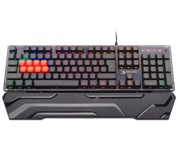 A4-TECH A4TKLA46058 A4TECH Herná klávesnica BLOODY B3370R (8 x Mechanical LK LIBRA Brown Switch) RGB