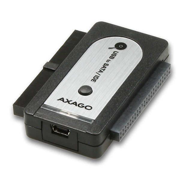 BAZAR- AXAGO - ADID-70 USB2.0 - SATA/IDE adapter, vč.AC