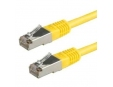 Patch kabel Cat5E, FTP - 2m, žlutý