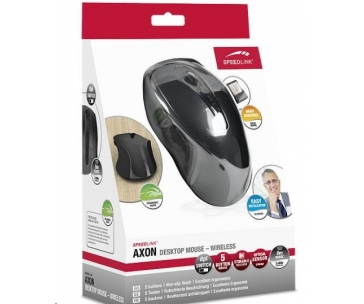 SPEED LINK AXON Desktop Mouse - Wireless, gray