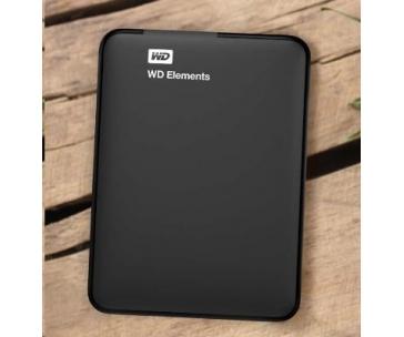 "BAZAR WD Elements Portable 750GB Ext. 2.5"" USB3.0, Black"