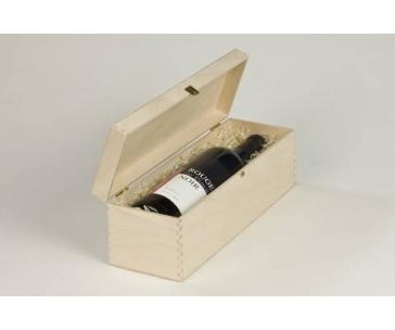 Dřevěná kazeta na 1 lahev