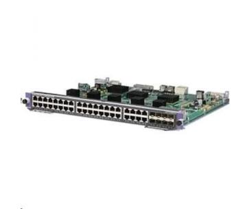 HPE 7500 40p Gig-T/8p SFP PoE ready Mod