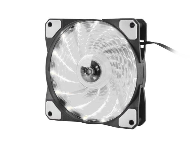 Genesis Fan Case/PSU HYDRION 120 WHITE; LED; 120MM