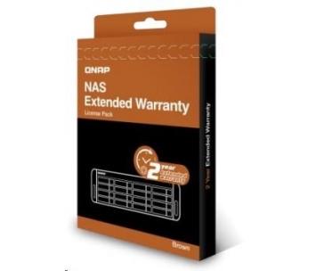 QNAP LIC-NAS-EXTW-BROWN-2Y-EI elektronická prodlužujicí záruka 2 roky
