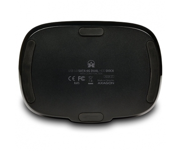 AXAGON ADSA-ST USB3.0 - 2x SATA 6G CLONE DUAL HDD dock station