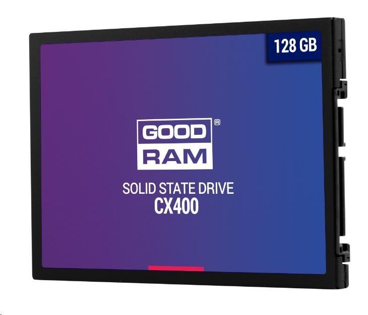 """GOODRAM SSD CX400 128GB, SATA III 7mm, 2,5"""""""