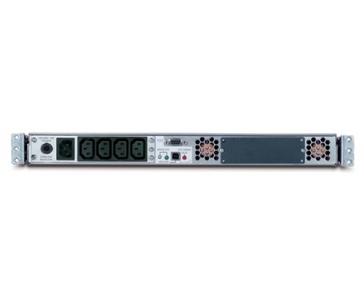 APC Smart-UPS 750VA USB & Serial RM 1U 230V, black (480W)