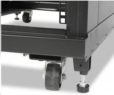 APC NetShelter SV 42U 600mm Wide x 1060mm Deep Enclosure without Sides Black
