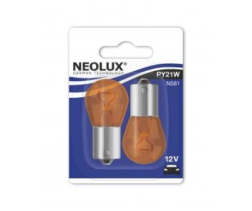 NEOLUX autožárovka PY21W STANDARD 12V 21W BAU15s (Blistr 2ks)