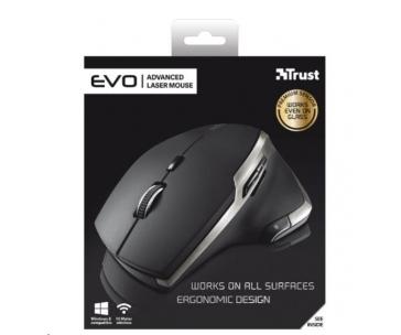 TRUST Myš EVO Advanced Laser Mouse USB, bezdrátová