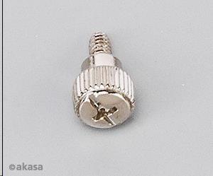 AKASA Šrouby hrubý závit, Typ 6-32, 12 ks