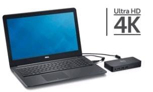 DELL USB 3.0 Ultra HD Triple Video Docking Station D3100 EUR