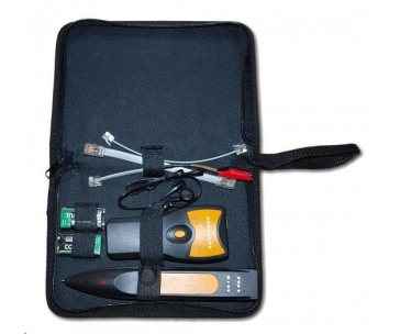 Tester UTP, bezkontaktní detekce, světelná a zvuková detekce, generátor tónu - pípák/bzučák