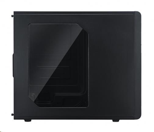 case Cooler Master miditower series N300, ATX,black, USB3.0, bez zdroje, průhledný bok