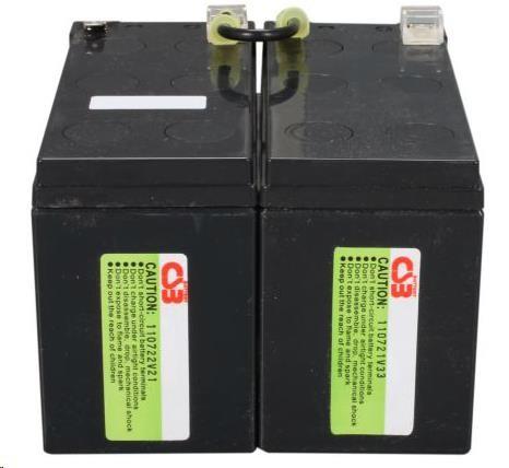 APC Replacement Battery Cartridge #109, BR1200LCDI, BR1500LCDI - Poškozaný obal - BAZAR