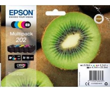 EPSON ink Multipack 5-colours 202 Claria Premium Ink