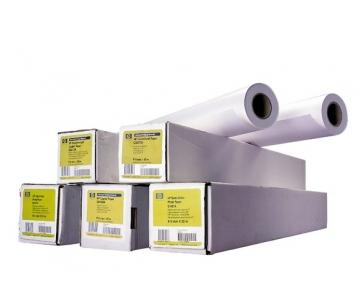 HP Heavyweight Coated Paper-914 mm x 30.5 m (36 in x 100 ft),  35 lb,  130 g/m2, C6030C