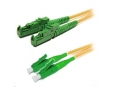 Duplexní patch kabel SM 9/125, OS2, E2000(APC)-LC(APC), LS0H, 5m