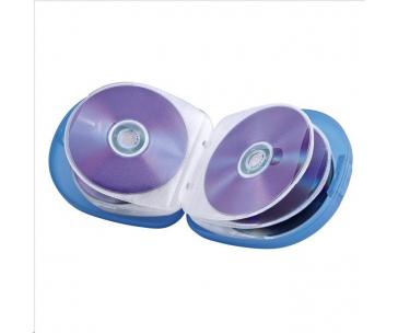 Hama CD Case 24, transparentný modrý