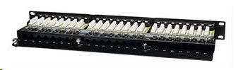"Intellinet Patch Panel, 19"", Cat5e, 48-Port, FTP, 1U, Black"