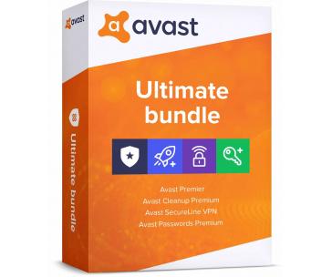 _Nová Avast Ultimate Multi-Device 1 licence na 12 měsíců (až na 10 PC )