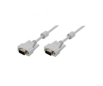 LOGILINK - Cable VGA with Ferrite Cores, 3 Meter