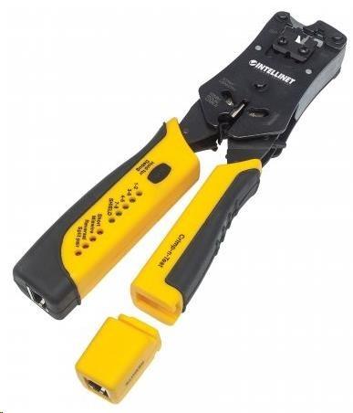 Intellinet krimpovací kleště & tester na kabely, crimping tool & cable tester