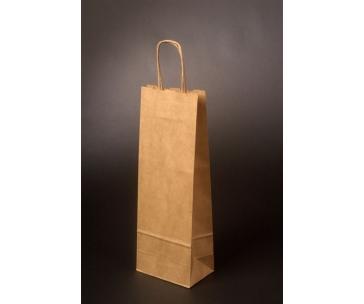 Papírová taška na 2 lahve