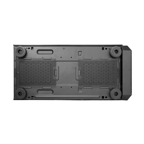 CHIEFTEC skříň Miditower Gaming SCORPION II Black, 2 x USB 3.0/1x USB 2.0, bez zdroje